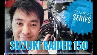 """SUZUKI RAIDER 150 """"COMBAT SERIES"""" // #iMarkMoto ep.10"""