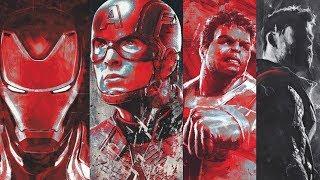LEAKED OFFICIAL Avengers Endgame PROMO ART