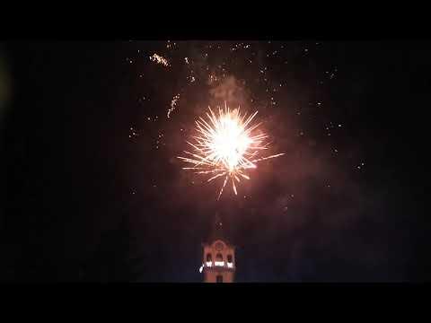 Tűzijáték, Szeged, 2020
