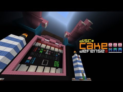 Minecraft Cake Defense 2 – 2MineCraft.com