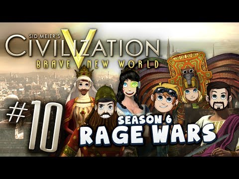 Civ V Rage Wars #10 - The Great Orange War