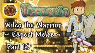 Terraria 1.3 Expert Melee Part 19 | Lunatic Cultist & Pillar Destruction! (1.3 warrior playthrough)