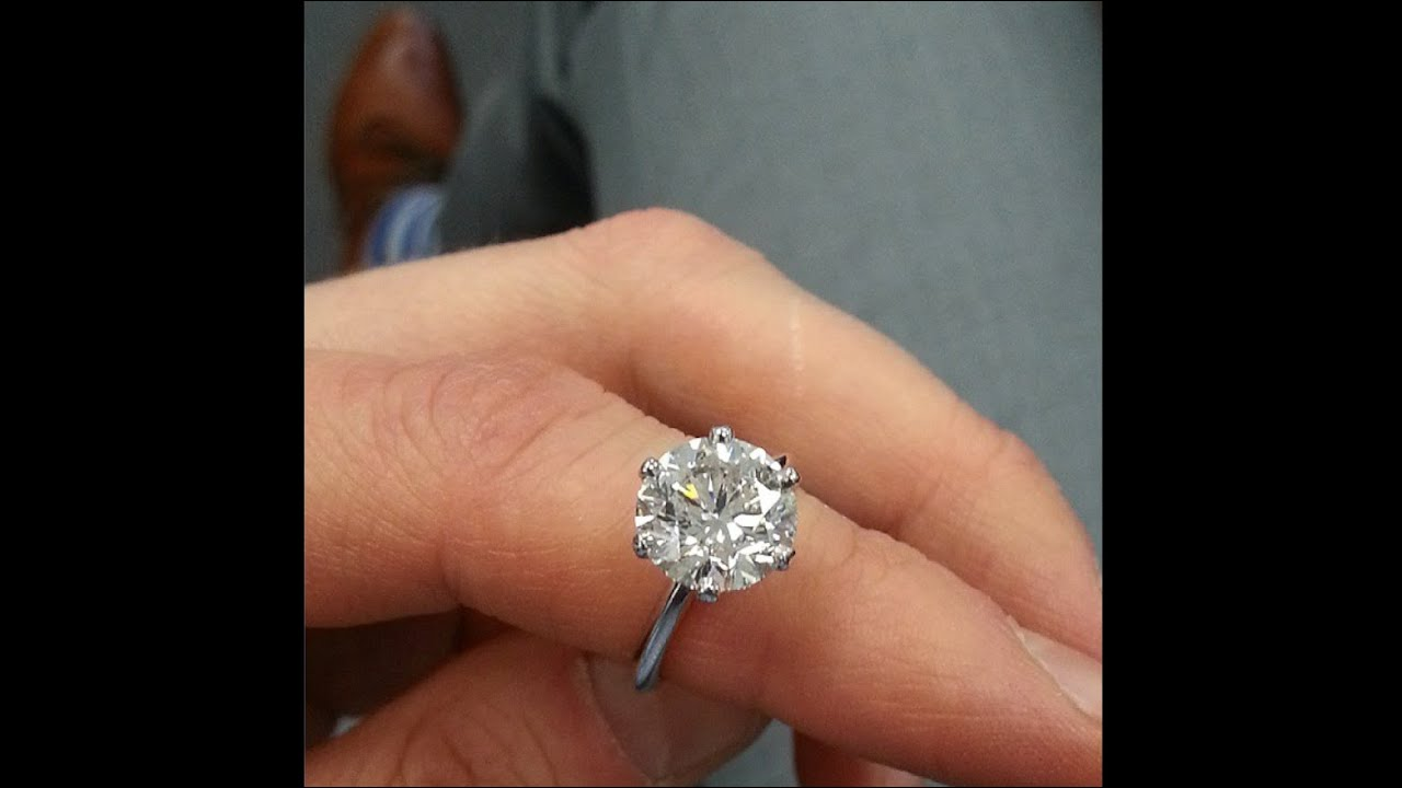 Tiffany Engagement Rings Round 4 04 ct Round Diamond