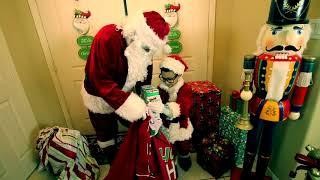 SANTA VISITS DEION for CHRISTMAS