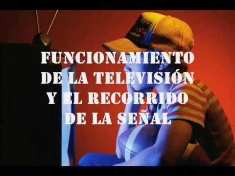 Funcionamiento de la television y el recorrido de la señal