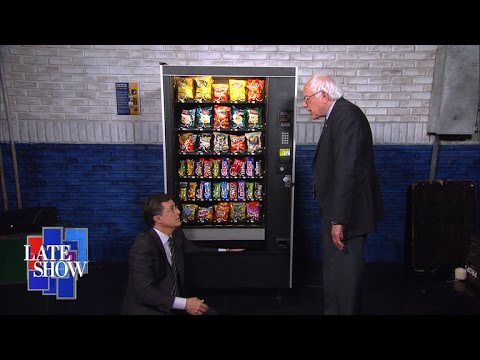 Bernie Sanders Teaches Stephen Never To Give Up