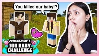 MY HUSBAND KILLED OUR BABY! - Minecraft: 100 Baby Challenge - EP 5
