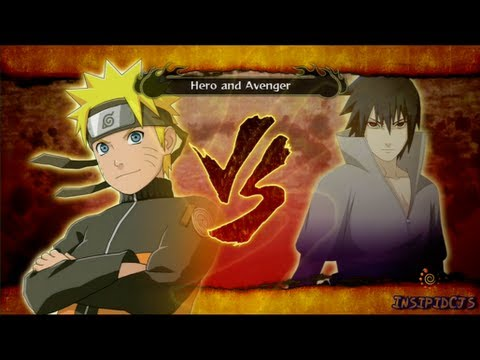 Naruto Ultimate Ninja Storm 3 Naruto Vs Sasuke S-Rank Hero (English)