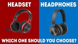 Headphones vs Headset - Which Should I Choose for Gaming? [Simple Guide]