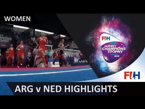 Argentina v Netherlands Match Highlights #HCT2016