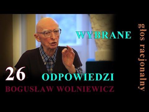 Bogusław Wolniewicz 26 WYBRANE ODPOWIEDZI Spotkanie Cz.3