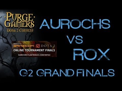 Rox vs Aurochs FINALS g2 Gamecom Plantronics