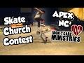 13 YEAR OLD KILLS SKATE CONTEST! | Skate Church Apex, NC 2017