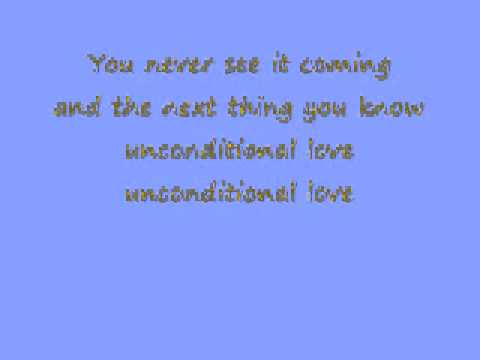 unconditional love lyrics
