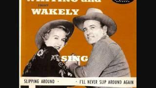Margaret Whiting and Jimmy Wakely - Slipping Around (1949)
