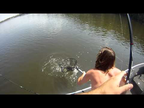 Fishing: Delaware River New Jersey 4-18-12
