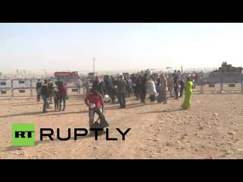 Turkey: Severely injured boys rushed across border after land-mine blast