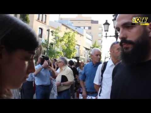 200 persones responen al crit de Podemos Terrassa per condemnar la violència a Palestina