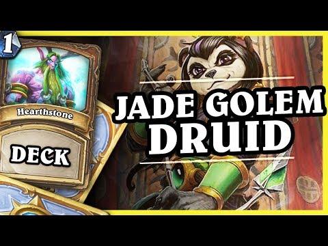 JADE GOLEM DRUID - DRUID 1/2 - Hearthstone Decks