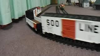 Garden Railroad At Toy Train Show in Englewood FL
