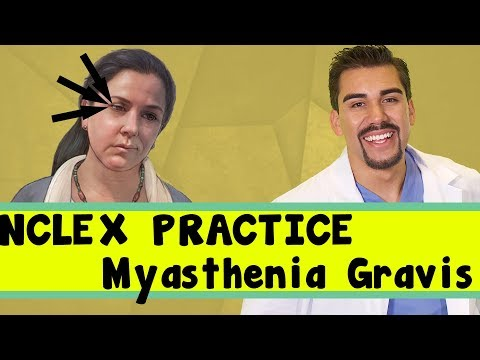 Myasthenia gravis NCLEX question for Nursing students