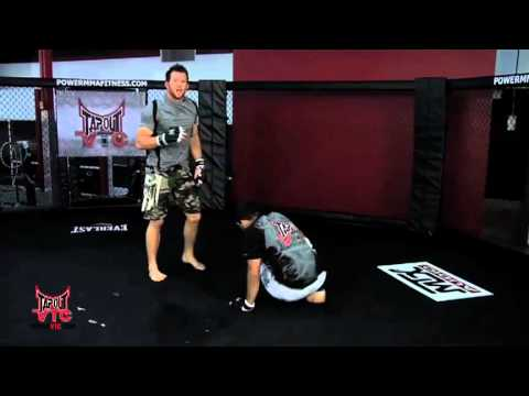 Wrestling Training: Double Leg Takedown with Ryan Bader Image 1