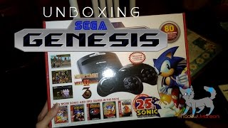 AtGames Sega Genesis Classic Game Console (Sonic 25th Anniversary Edition) Unboxing