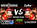 Apex 2015 - Mew2King (Diddy Kong) Vs. ZeRo (Diddy Kong) - Winners Semis - Smash Wii U