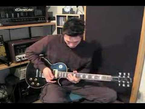 Aynsley Lister playing to Peter Green style track