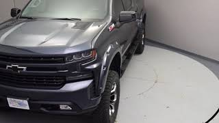 New 2019 Chevy Silverado 1500 RST Black Widow Lifted Truck