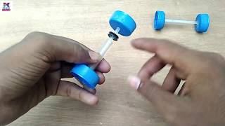 How To Make Phone Battery Electric Car - DIY Project