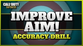 Improve your Aim in CoD WW2 | (Accuracy + Warm-up Drill)