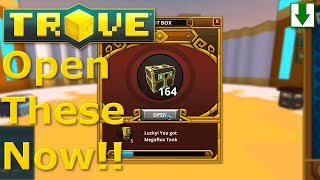 Titan's Treasures Being NERFED! Trove Box Opening
