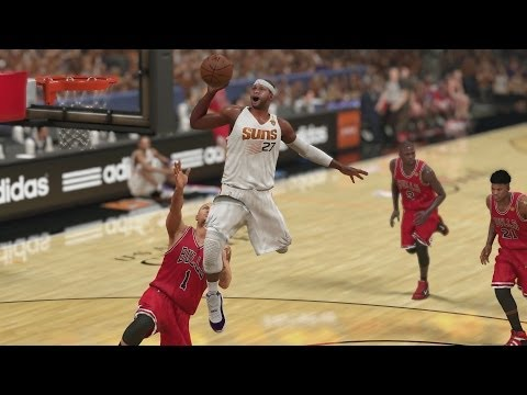 NBA 2K14 PS4 My Career NFG2 - Free Throw Line Dunk!