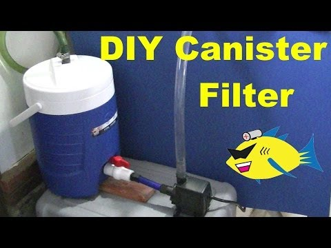 how to make a homemade bio filter for your pond that