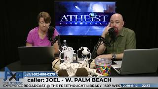 Did Jesus Exist & Appeal to Silence | Joel - West Palm Beach, FL | Atheist Experience 22.32
