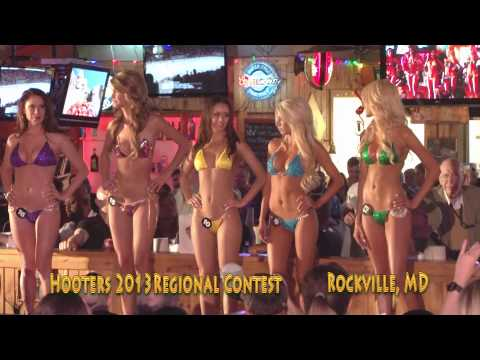 Hooters 2013 VA MD Regional Swimsuit Contest