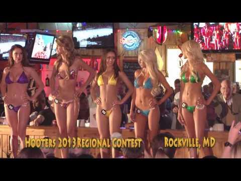 Hooters 2013 VA MD Regional Swimsuit Contest