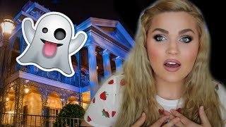 Ghosts at Disneyland | Scary Paranormal Haunted Mansion Storytime