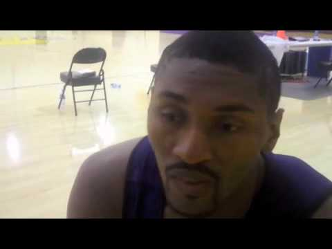 Ron Artest, on playing against the Houston Rockets Video