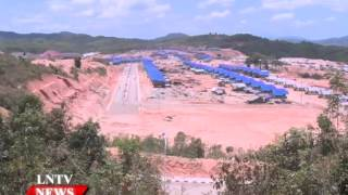 Lao NEWS on LNTV: Xekong moves to new Kaleum capital.28/4/2015