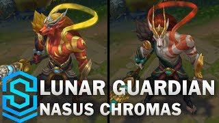 Lunar Guardian Nasus Chroma Skins
