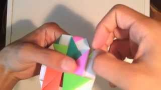 Origami Spinning Top - How To Make Origami Spinning Top