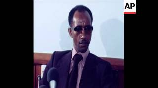 SYND 19 1 78 ETHIOPIAN FOREIGN MINISTER BAYIH AT PRESS CONFERENCE
