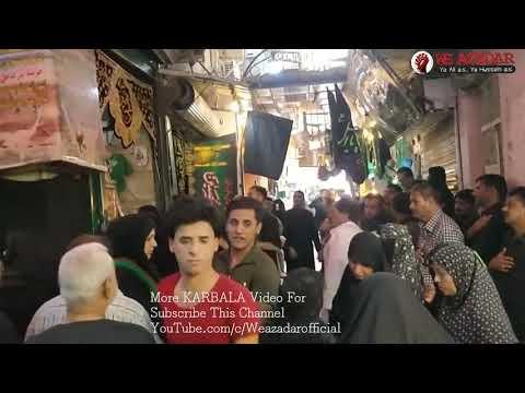 Makam E Ali Asagar as KARBALA 1440 Noha Ye Wo Ali Hai Jis Ko Kabhi Ghar Nahi Mila Ali Akabar Ali