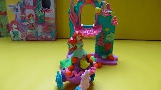 Nàng tiên cá Ariel lâu đài  Đất Nặn( Bi Do) - 장난감 아리엘은 해저 성 인어