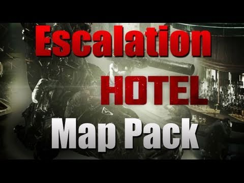 Black Ops HOTEL Multiplayer Gameplay (NEW Escalation DLC Map Pack!)
