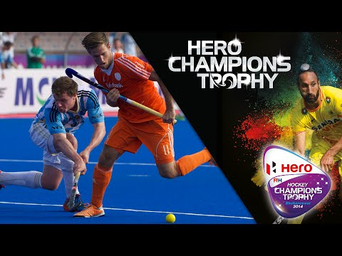 Argentina vs Netherlands - Men's Hero Hockey Champions Trophy 2014 India 5th/6th Place [14/12/2014]