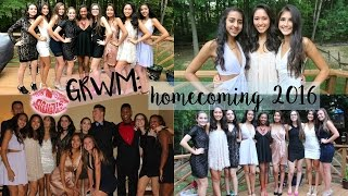 GRWM: HOMECOMING 2016!!!