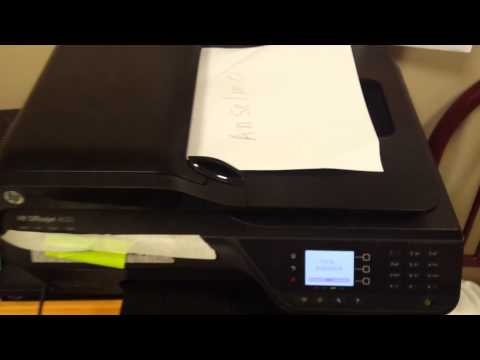HOW USE THE FAX ON HP OFFICEJET 4620